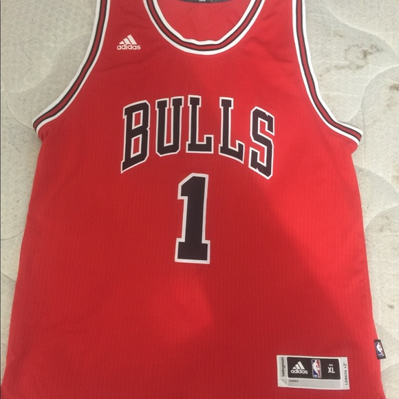 online store 9d352 011df Authentic D rose adidas Jersey
